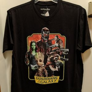 Guardians of the Galaxy large t shirt NWT